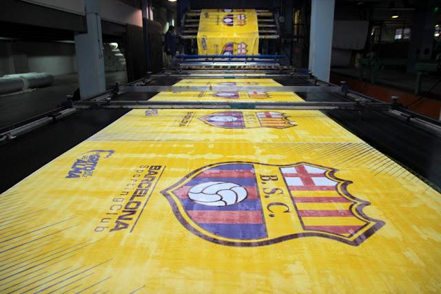 "Delltex renovó la licencia de uso de imagen de ""Barcelona Sporting Club"" para sus cobijas"