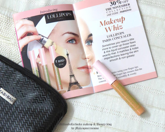 Fab Bag November 2015:Unboxing, Review & Price