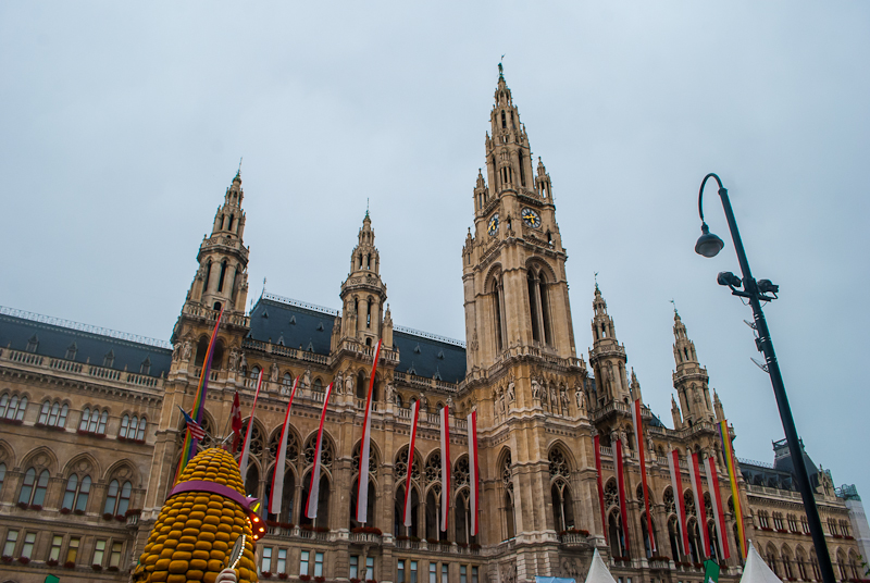 Town hall in Vienna, Austria