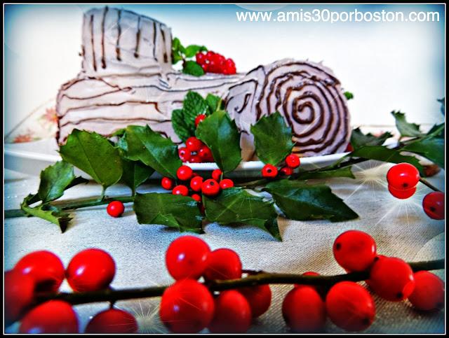 Receta del Tronco de Navidad