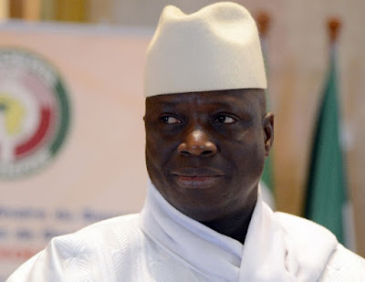 Weapons seized from Gambia ex-leader's Yahya Jammeh home village of Kanilai