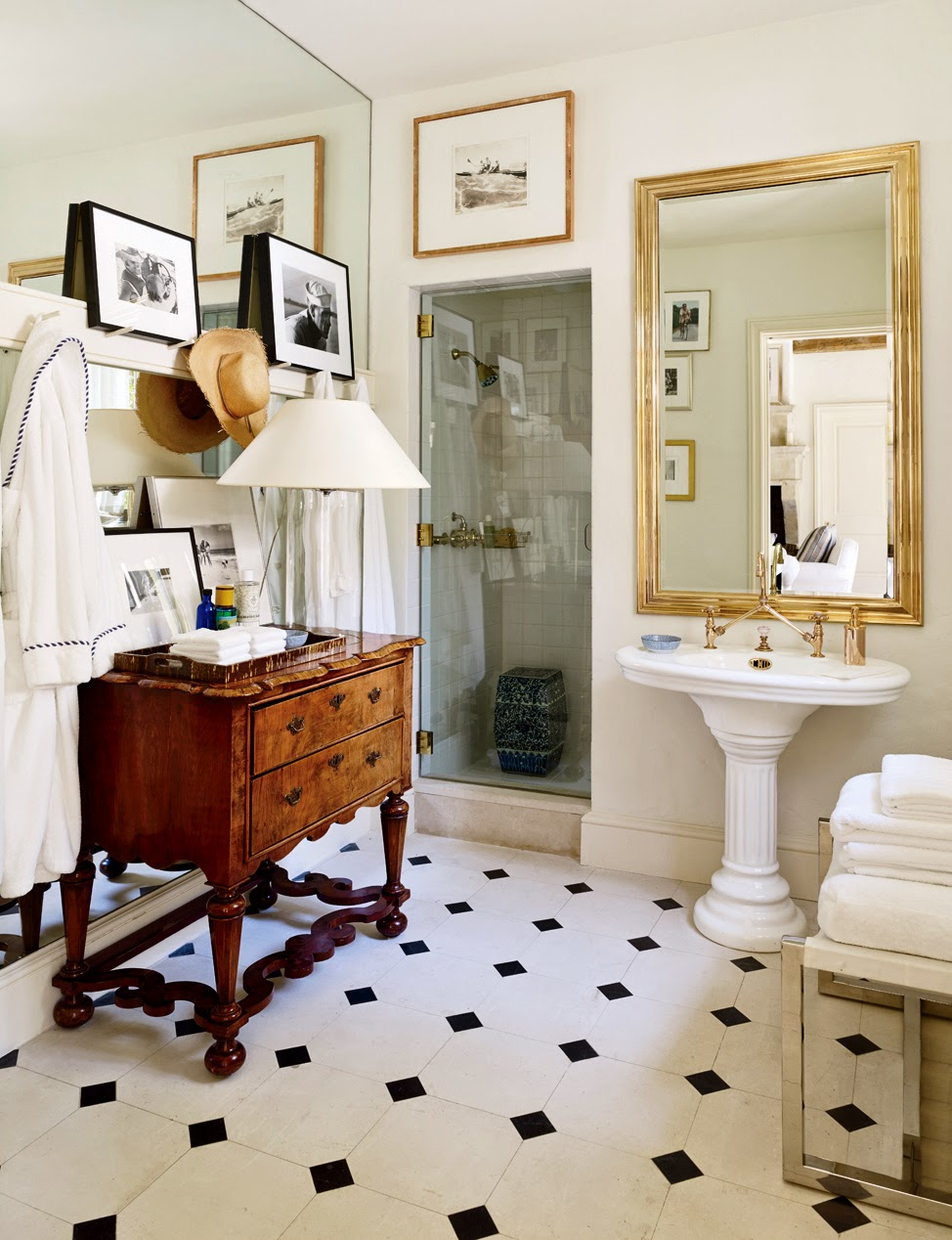 old bathroom decorating ideas 30 ba 241 os vintage para inspirarte 21023