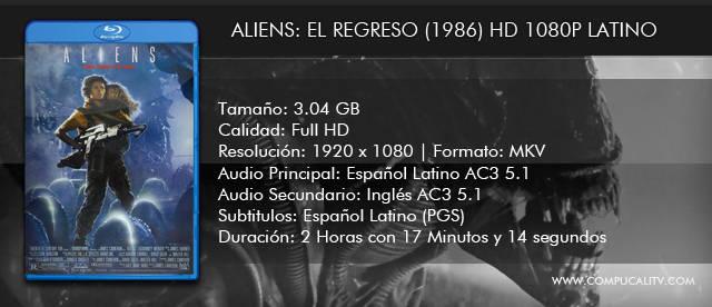 Aliens: El Regreso (1986) HD 1080p Latino