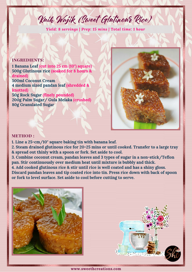 SHC 10 BEST TRADITIONAL MALAY KUIH RECIPES