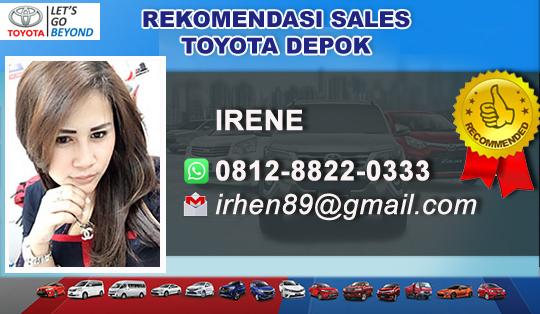 Rekomendasi Sales Toyota Depok, Jawa Barat
