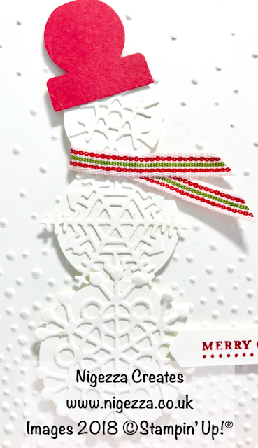 Stampin' Up!® Snowman Christmas Card Nigezza Creates
