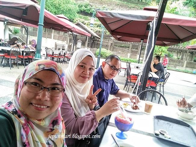 makan kat Taman Warisan Pertanian Putrajaya