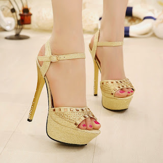 Zapatos Dorados, Diseños Exclusivos, Fiestas