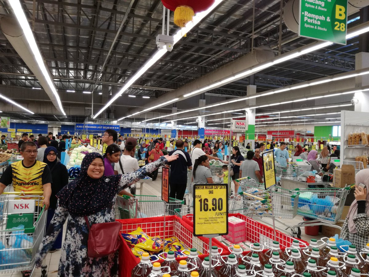 Besar Jugak Lah Nsk Dekat Kota Damansara Ni Memang Sesak Sangat Malam Semalam Nak Beli Minyak Masak Pun Tak Sempat Dah Habis Licin