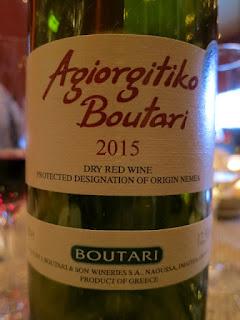 Boutari Agiorgitiko 2015 (88 pts)