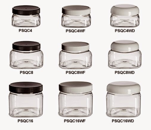 Specialty Bottles jars for organizing sanding sugars