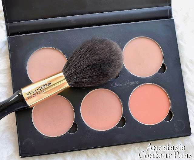 Anastasia Beverly Hills Contour Kit Refill Pans Size Comparison Review