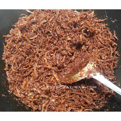 resepi sambal ikan bilis garing, sambal ikan bilis garing, cara buat sambal ikan bilis garing, bahan membuat sambal ikan bilis garing