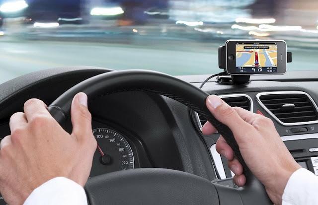 GPS ao alugar um carro nos Estados Unidos