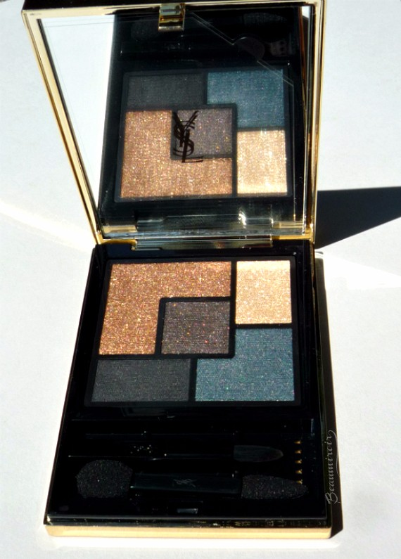 Yves Saint Laurent Couture Eyeshadow Palette in Danger Seduction for Fall 2016: review, photos, swatches