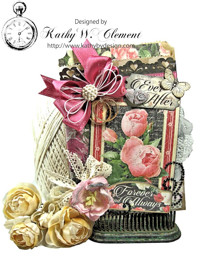 Kathy by Design/Romantic Ribbon and Mon Amour