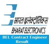 BEL Contract Engineer Result