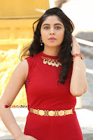 Telugu Actress Zahida Sam Latest Pos in Red Gown at RF Films New Movie Opening  0043.JPG