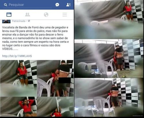 Video de Cantor de Forro Fodendo a Fã