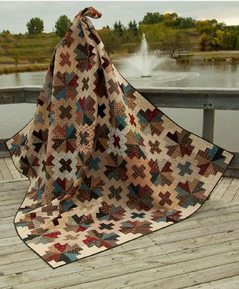 Black Rock Ferry Quilt Free Pattern
