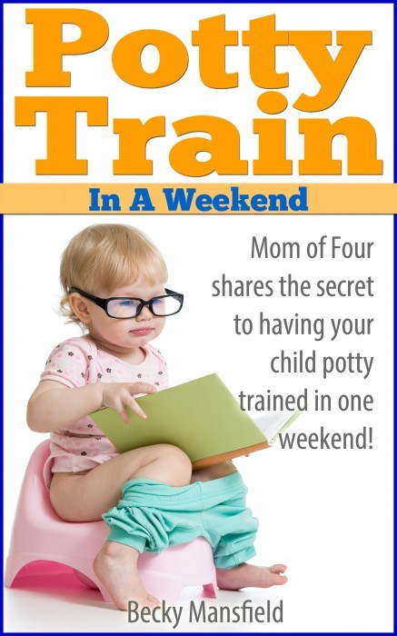 great tips for how to potty train in a weekend