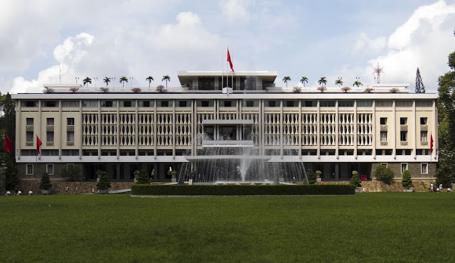 Vietnam's Reunification Palace in Ho Chi Minh City
