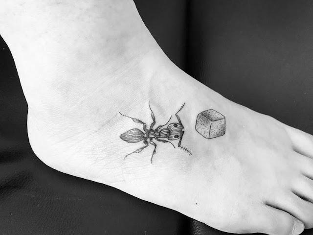 Tatuagens de formiga