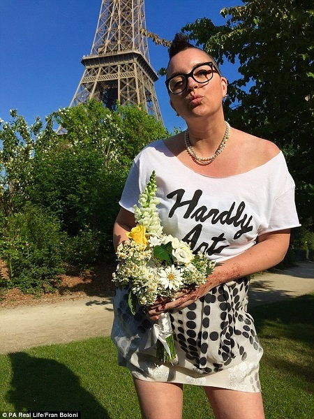 Unbelievable! 42-year-old Woman Marries Herself in France (Photos)
