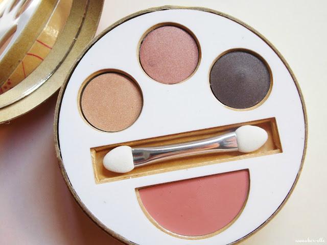 kit flush makeup - couleur caramel
