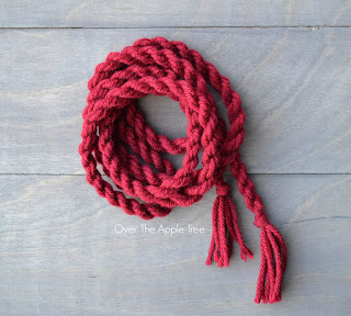 Cabled Crochet Cowl by Over The Apple Tree