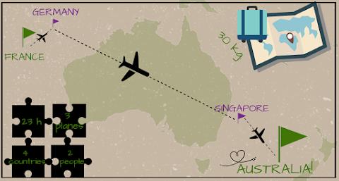 Lot do Australii - nasze bilety lotnicze