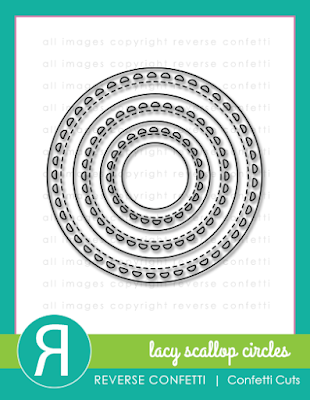 lacy scallop circle