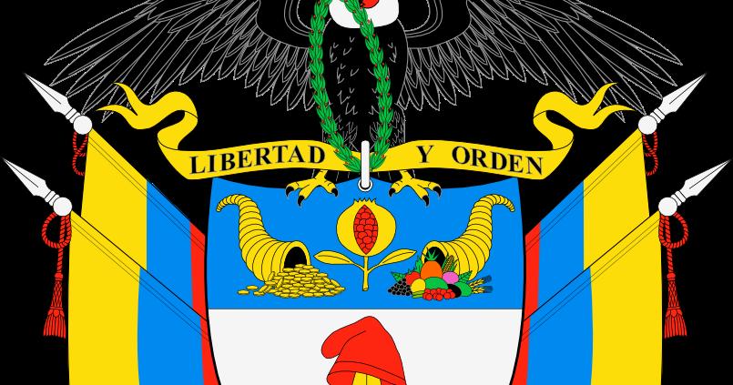 Dibujo Heraldico Escudo De Colombia