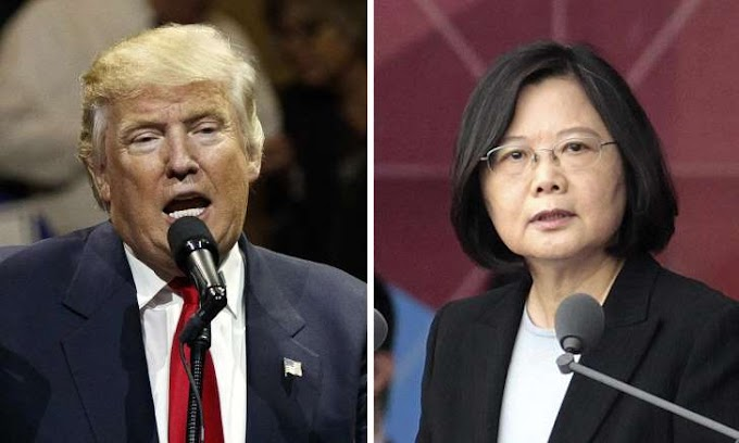 China lodges complaint with US over Trump's Taiwan phone call