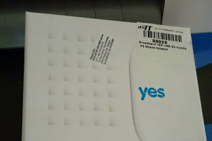Review: Plan Internet YES 4G!