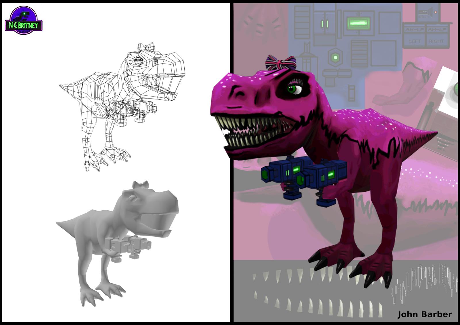 Lazer T-rex