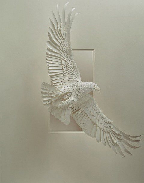 "Amazing and Beautiful Paper Sculpture By Canadian Artist ""Calvin Nicholls"""