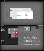 Numix Dark And Light Theme Win10 October 1809 - Year of Clean Water
