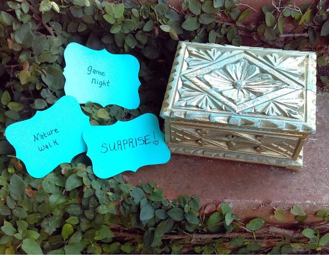 summer activities treasure chest