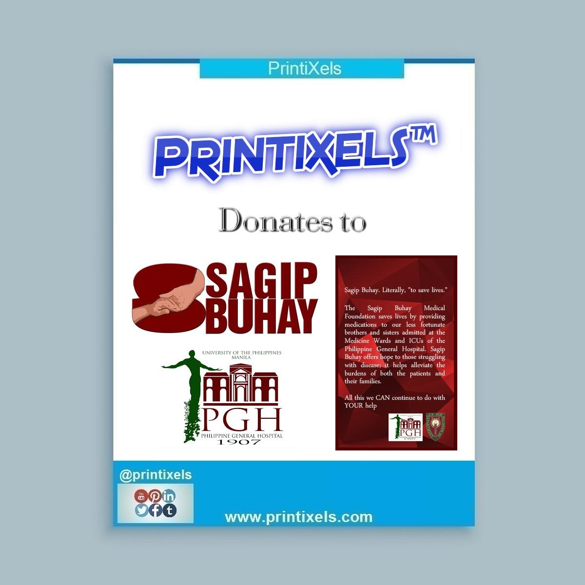 Printixels Donates to UP-PGH Sagip Buhay Medical Foundation