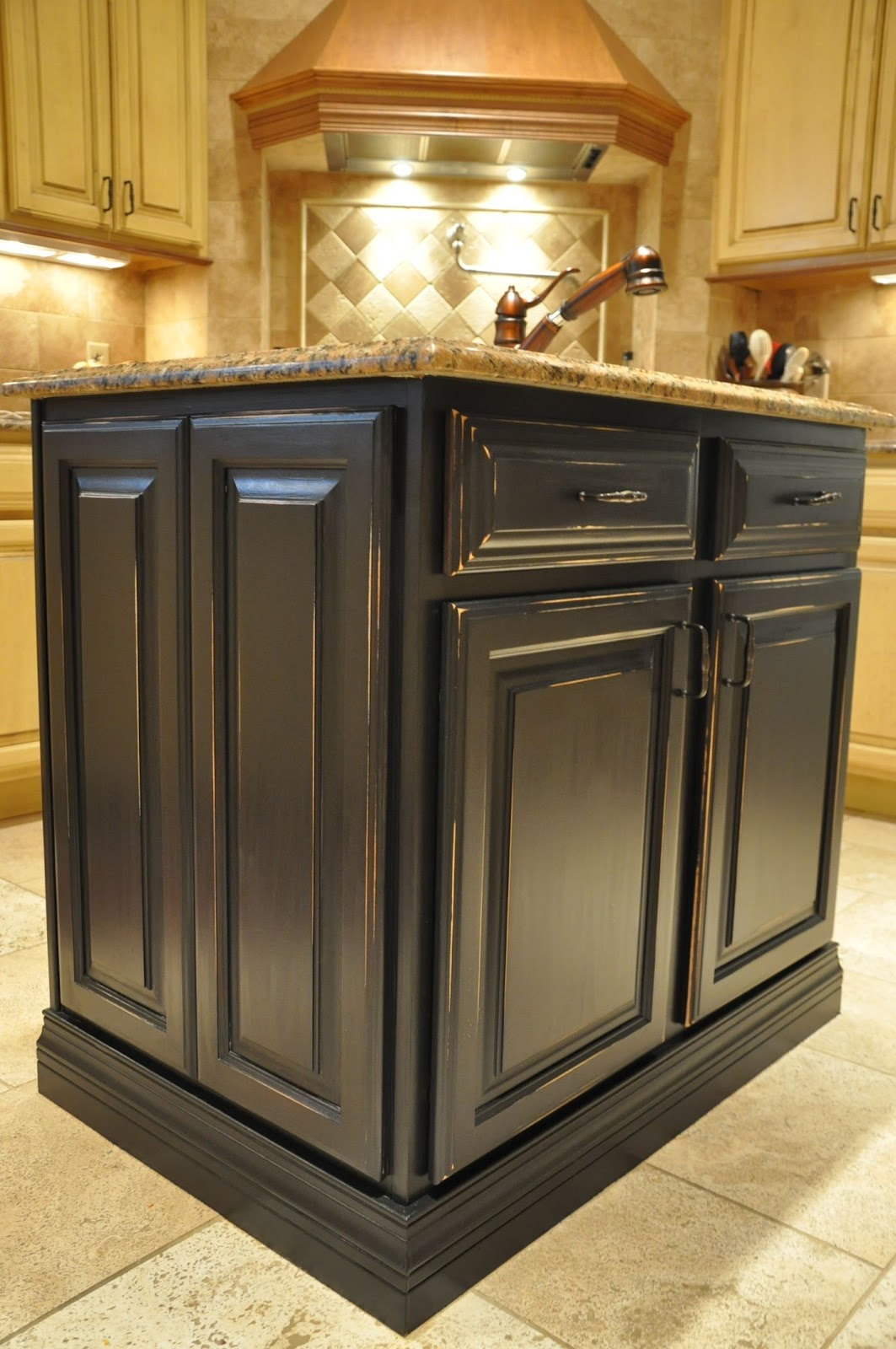 black kitchen cabinet paint painted kitchen island reveal evolution of style 4692
