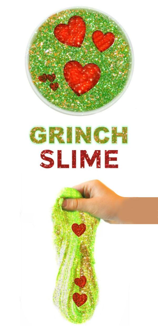 2 INGREDIENT GRINCH SLIME RECIPE #grinch #grinchslimerecipe #slime #slimerecipe #slimerecipeeasy #slimeforkids #growingajeweledrose #playlearngrow
