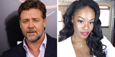 Amerian actor Russel Crowe accused of assaulting rapper Azealia Banks