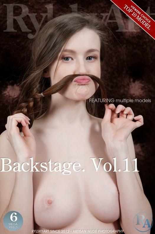RylskyArt 2014-10-09 Multiple Models - Backstage. Vol.11 10120