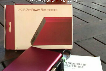 Review Asus ZenPower Slim 6000: Slim, Praktis dan Terjangkau