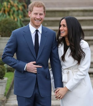 Meghan Flaunts Her Diamond Ring Designed By Prince Harry