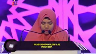 Mp3 Tilawah MTQ Antar Bangsa 2017 (Khairun Nisa - Indonesia)