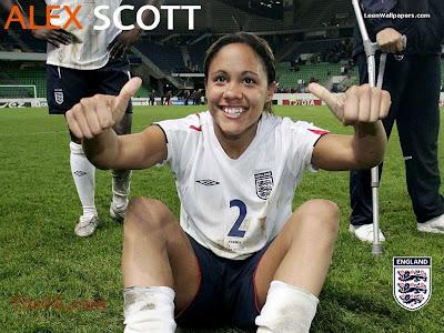 Beautiful Female Football Players: Female Footballer ...