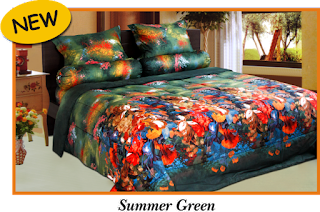 Sprei & BedCover Impression - Summer Green