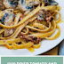 Sun Dried Tomato and Mushroom Pasta in a Garlic and Basil Cream Sauce